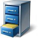 Cabinet Open Icon 128x128