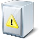 Cabinet Warning Icon 128x128