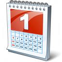 Calendar 1 Icon 128x128