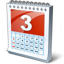 Calendar 3 Icon 128x128