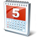 Calendar 5 Icon 128x128