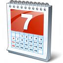 Calendar 7 Icon 128x128