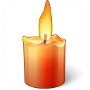 Candle Icon 128x128