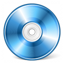 Cd Blue Icon 128x128