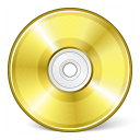 Cd Gold Icon 128x128