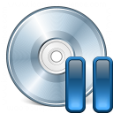 Cd Pause Icon 128x128