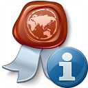 Certificate Information Icon 128x128