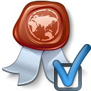 Certificate Preferences Icon 128x128