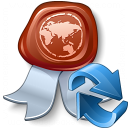 Certificate Refresh Icon 128x128