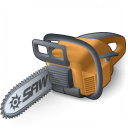 Chainsaw Icon 128x128