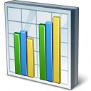 Chart Column Icon 128x128