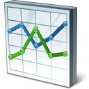 Chart Line Icon 128x128