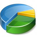 Chart Pie 2 Icon 128x128
