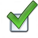Checkbox Icon 128x128