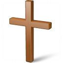 Christian Cross Icon 128x128