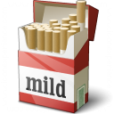 Cigarette Packet Icon 128x128