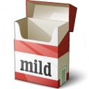 Cigarette Packet Empty Icon 128x128