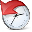 Clock History Icon 128x128