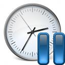 Clock Pause Icon 128x128