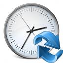 Clock Refresh Icon 128x128