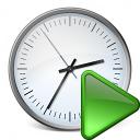 Clock Run Icon 128x128