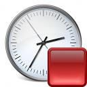 Clock Stop Icon 128x128