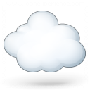 Cloud Computing Icon 128x128