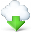 Cloud Computing Download Icon 128x128