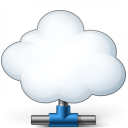 Cloud Computing Network Icon 128x128