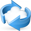 Cloud Computing Refresh Icon 128x128