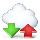 Cloud Computing Updown Icon 128x128