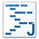 Code Java Icon 128x128