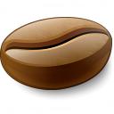 Coffee Bean Icon 128x128