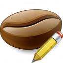Coffee Bean Edit Icon 128x128