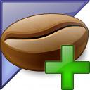 Coffee Bean Enterprise Add Icon 128x128