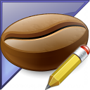 Coffee Bean Enterprise Edit Icon 128x128