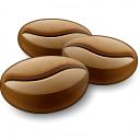 Coffee Beans Icon 128x128