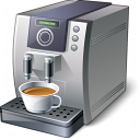 Coffee Machine Icon 128x128