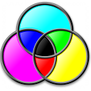Colors Cmyk Icon 128x128