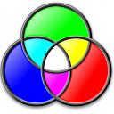 Colors Rgb Icon 128x128