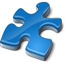 Component Blue Icon 128x128