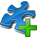 Component Blue Add Icon 128x128