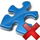 Component Blue Delete Icon 128x128