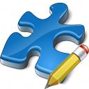 Component Blue Edit Icon 128x128