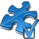 Component Blue Preferences Icon 128x128