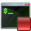 Console Stop Icon 128x128