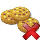 Cookies Delete Icon 128x128