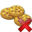 Cookies Delete Icon 128x128