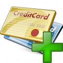 Credit Cards Add Icon 128x128