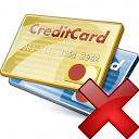 Credit Cards Delete Icon 128x128